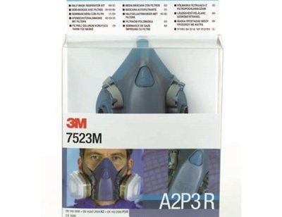 Halvmaske 3M™ 7523 Startpakke