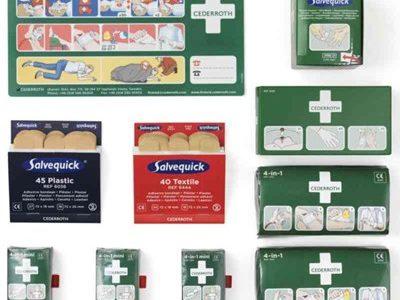 Førstehjelp pakke Refill Cederroth 492640