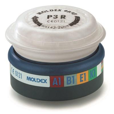 Filter til Moldex 7000 halvmasker og 9000 helmasker