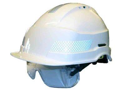 Klistremerker og reflekser til hjelmer