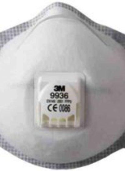 3M™ 9000-serie støvmaske, velg P3, P2, ventil, uten ventil, farge.
