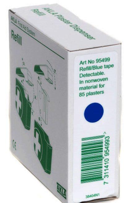 Akla 95499 refill plaster blå til AKLA 95495 dispenser