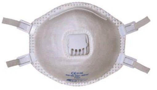 Biztex P3 støvmaske. 10 stk.