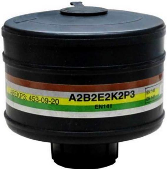 Kombinasjons filter A2B2E2P3 FOR HELMA