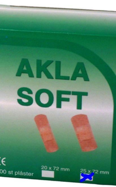 Plaster Soft AKLA 95601 25x72mm Universalplaster