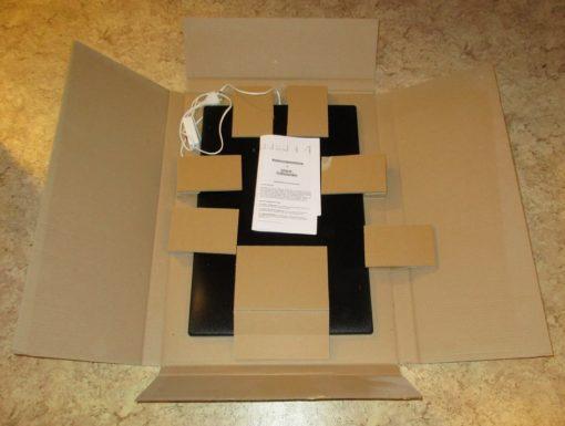 FOTVARMER 55W Infrarød varmestråling. For kontoret, lageret, i kassa, arbeidsbenken mm.